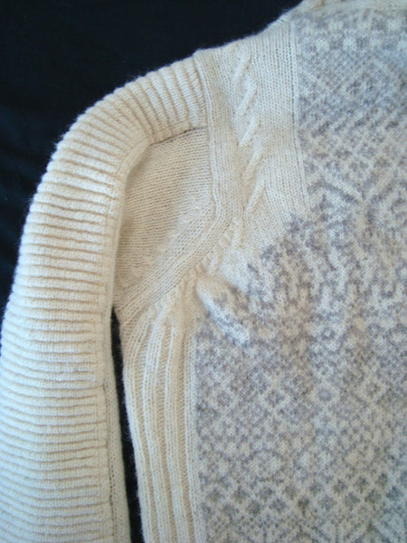 2005 Heavy Virgin Wool Biker Sweater