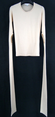 1998 Elongated Sleeve T-Shirt with Cut-Outs