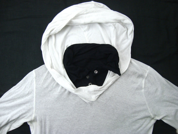 2005 Double-Layered Reversible 'Wish' Hooded Sweater