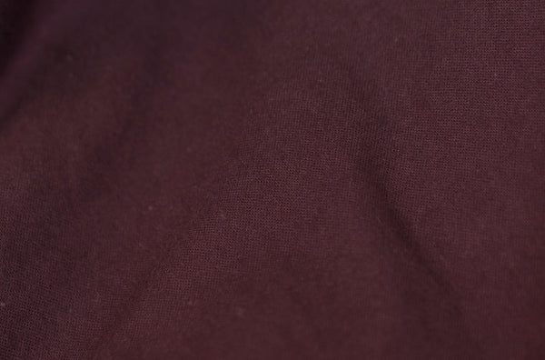 2003 Brushed Cotton Classic Shirt with Bondage Elbow Strap (Burgundy)