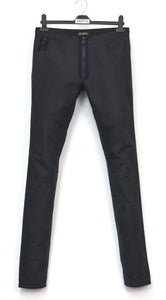 2004 Heavy Waxed Cotton Skinny Gimp Jeans