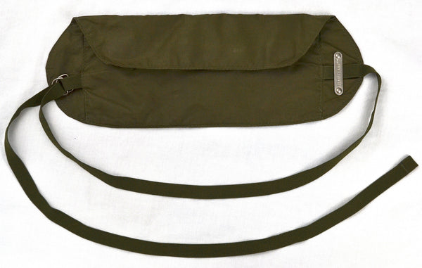 1999 Resinated Cotton Waist Pack with Strap Closure