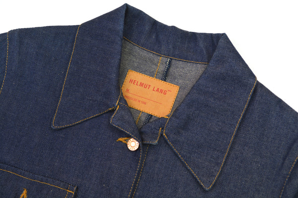 1997 Fine Raw Denim Button-Down Dress