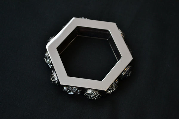 2008 'Warrior' Medallion Hexagon Bracelet