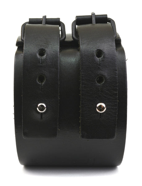 2005 Double Strap Leather Bracelet