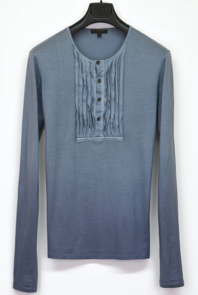 2009 Extrafine Jersey Ombre-Dyed Plastron T-Shirt