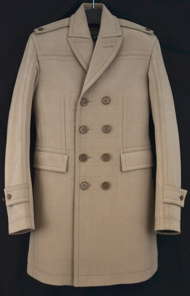 2011 Bonded Crêpe Sculptural Great Coat
