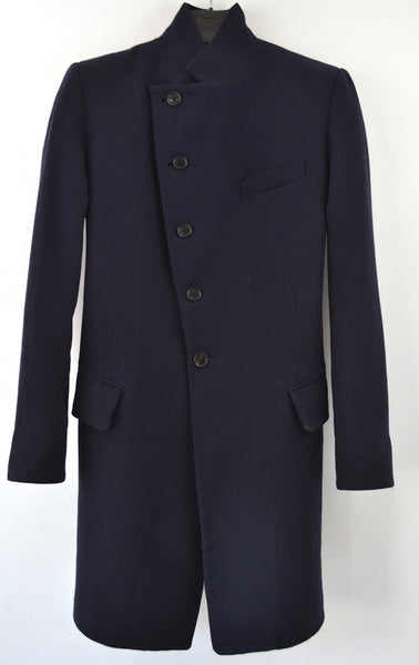 2008 'Vocal' Frock Coat with Pleated Waist and Herringbone details