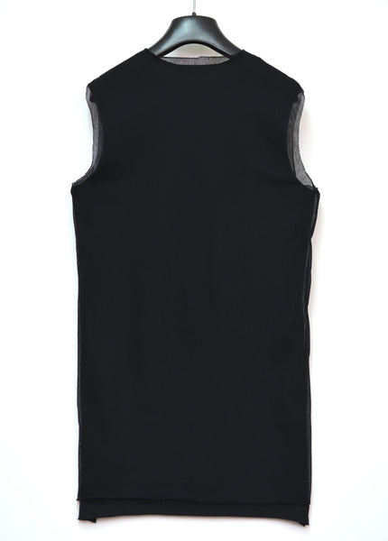 2003 'Resisted' Tank Top with Mesh Overlay