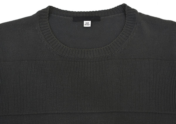 2002 Classic Cotton Sweater with Raised Stripes