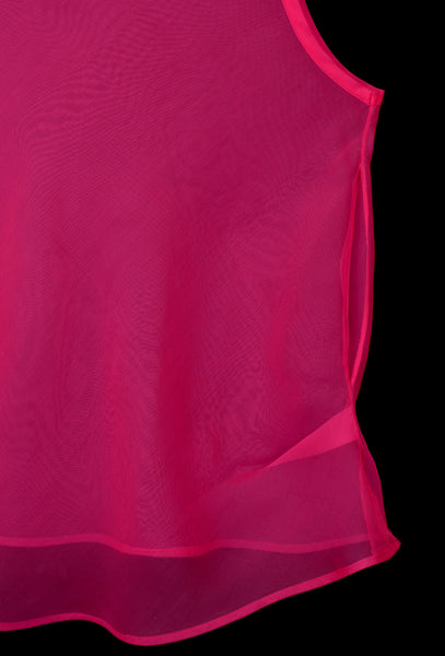 2000 Silk Organza Sleeveless Layering Top