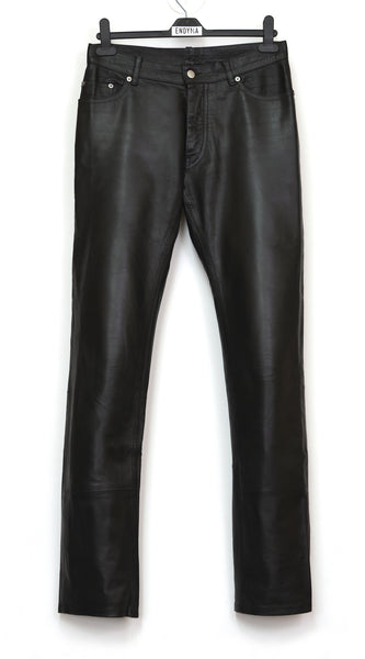 1998 Fine Calf Leather Classic Jeans