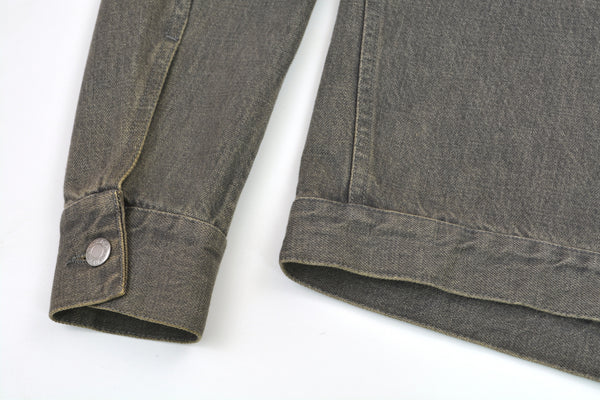1999 Vintage Sanded Denim Slim Lower 2-Pocket Jacket