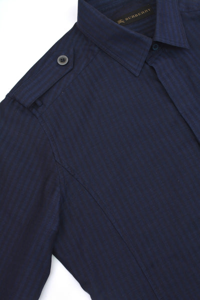 2006 Herringbone Twill Skinny Military Shirt