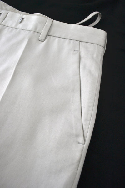2002 Sateen Cotton Tailored Trousers