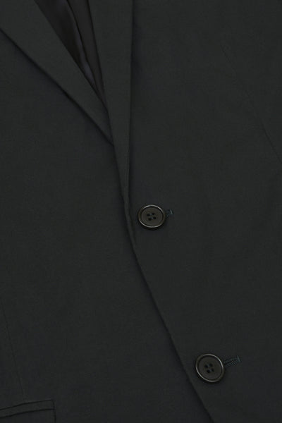 2005 Soft Cotton Voile Hand-Tailored Evening Jacket with Silk Collar