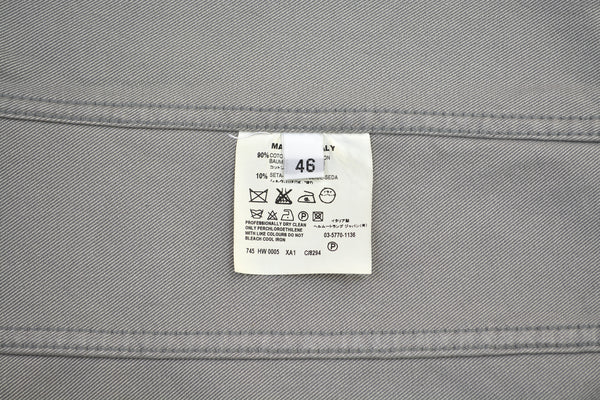 2002 Raw Silk Denim Slim Classic 2-Pocket Jacket
