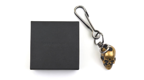 2003 Destroyed Painted Skull Keychain
