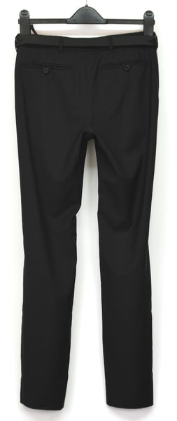 2001 Wool/Silk Tailored Trousers with Elastic Bondage Belt