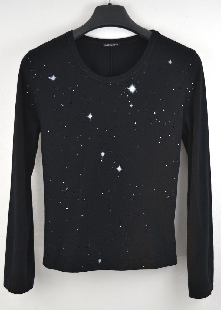 2003 Tailored T-Shirt with Night Sky Print