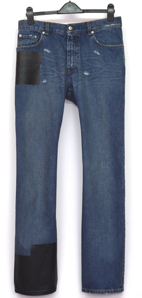 2003 Classic Vintage Jeans with Rubber Tape Applications