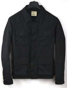 1997 Fine Nylon Worker Jacket with Cargo Pockets