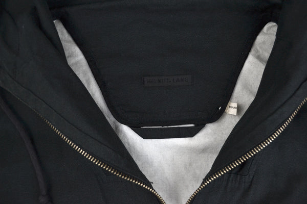 2001 Bonded Stainless Canvas Military Parka with Bondage Strap