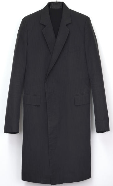 2003 Vintage Laddered Cotton Classic Tailored Coat