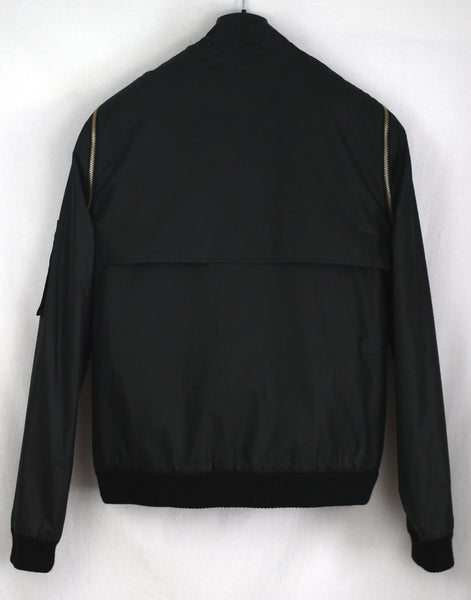 2001 Oversized Bomber Jacket with Detachable Sleeves