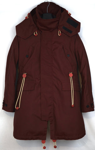 2012 Heavy Coated Nylon Storm Parka