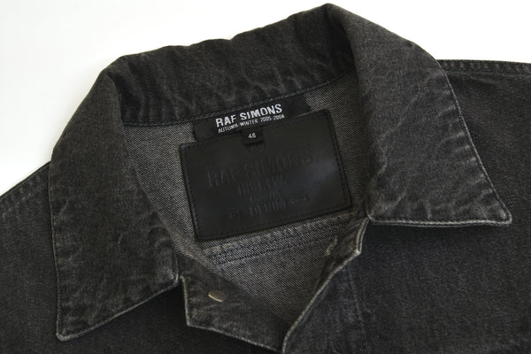 2005 Acid Washed Denim 'History of the World' Jacket