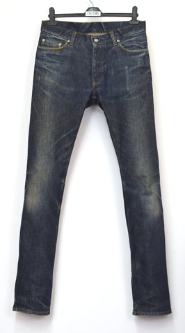 1998 Broken-In Raw Denim Classic Jeans