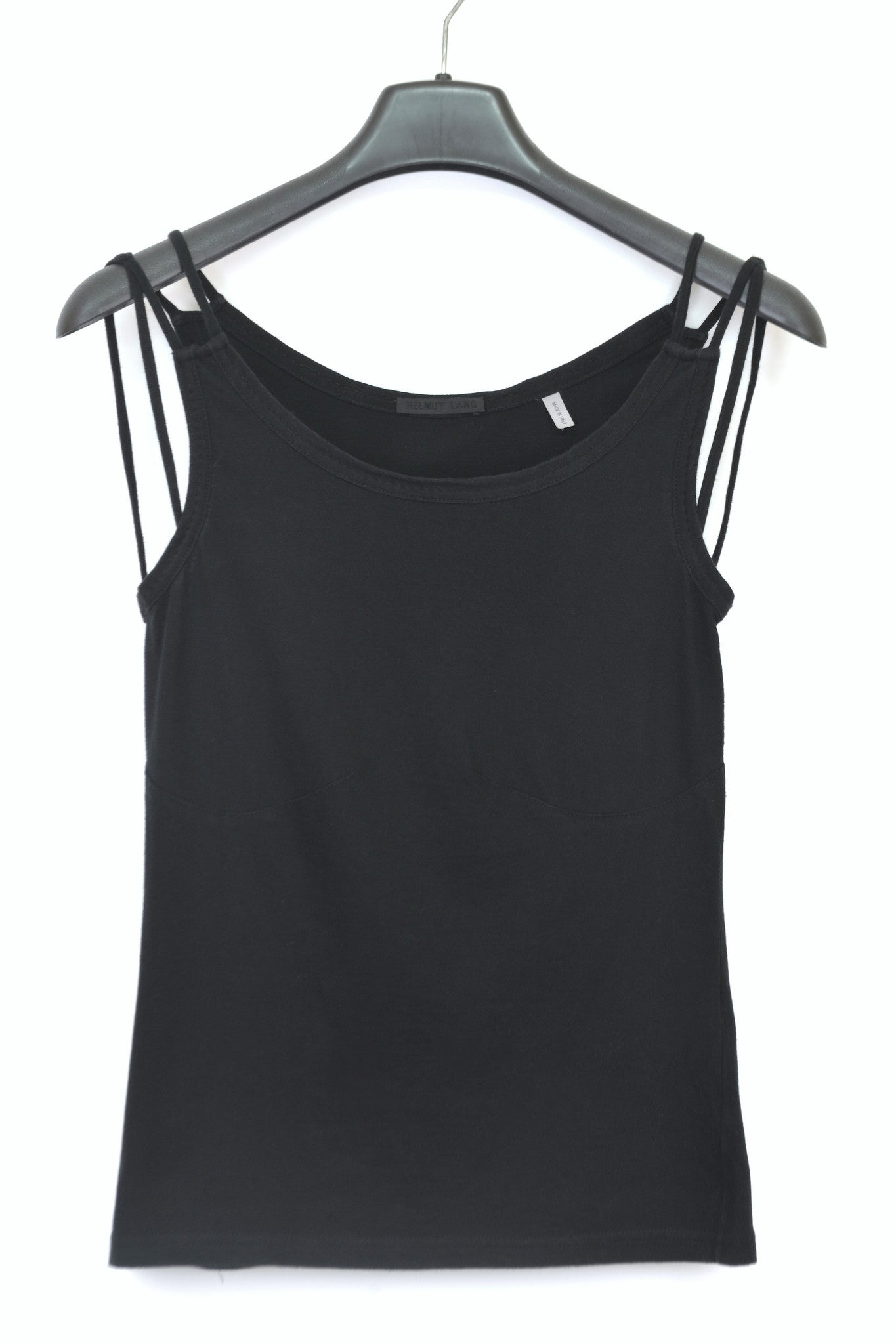 2001 Tailored Tank Top with Shoulder Strap Details