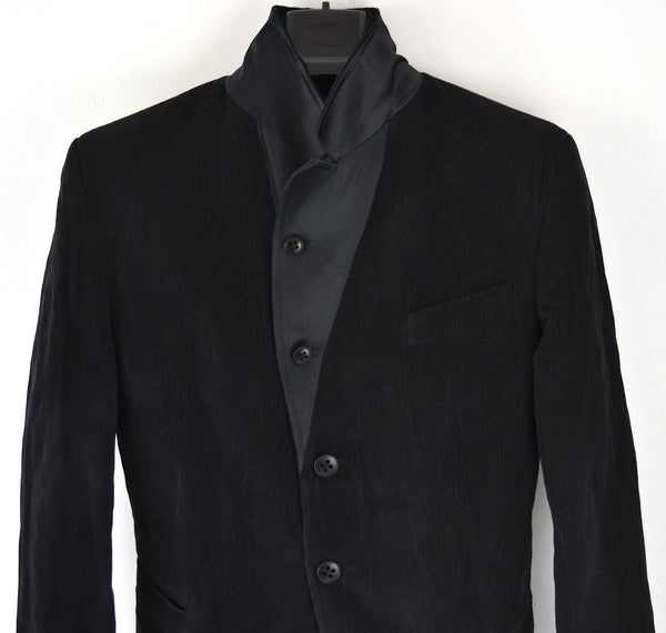 2006 Cotton/Metal Evening Jacket with Silk lapels