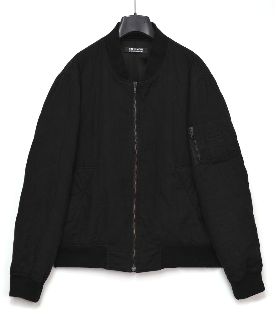 2009 Overdyed Quilted Voile Classic Bomber Jacket