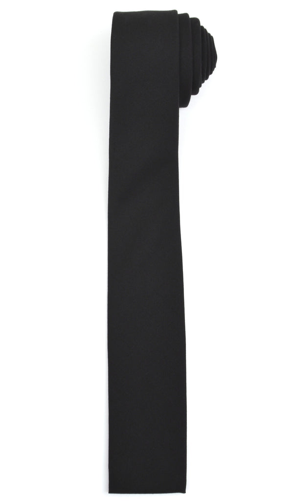 2003 Super 140's Wool Handmade Square-End Narrow Tie