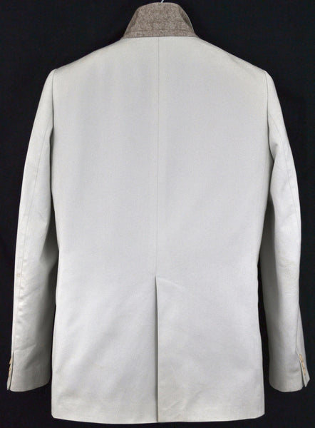 2002 Sateen Cotton Tailored Jacket with Bondage Straps