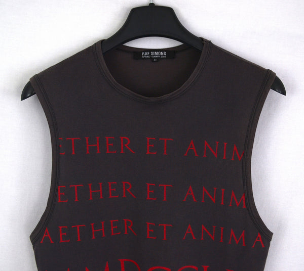 2006 'Aether et Anima' Dropped Armhole Tank Top