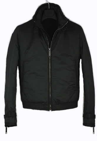 2009 Funnel Neck Padded Biker Blouson