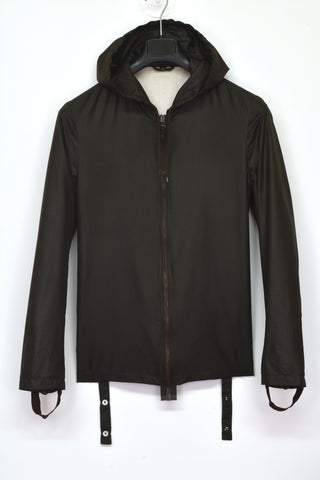 2003 Slim Bondage Windbreaker Jacket with Cuff Straps