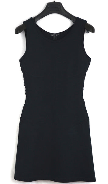 2001 Compact Jersey Tailored Sport Dress with Laced Cut-Outs