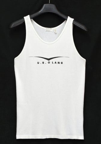 1998 Ribbed Jersey 'U.S. Lang' Tank Top
