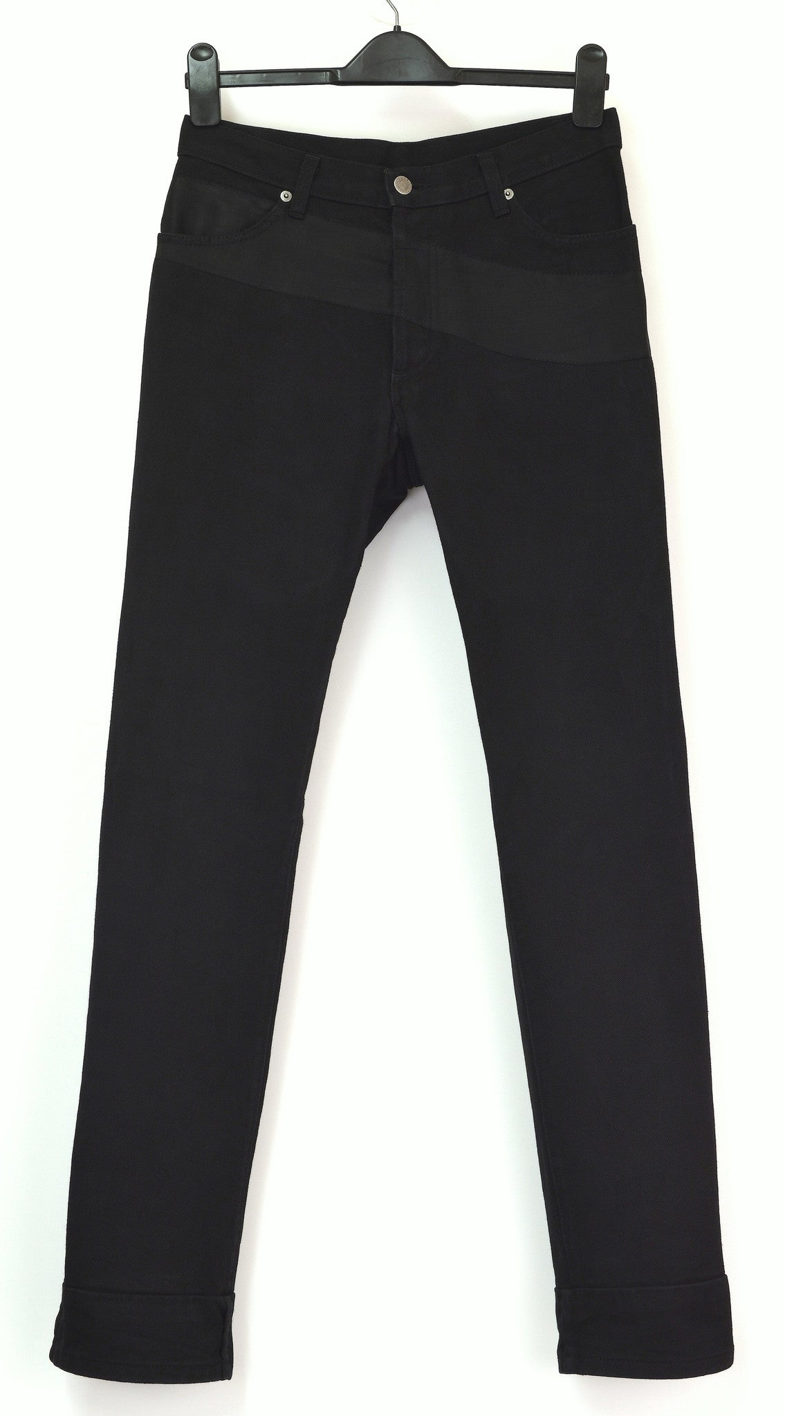 1997 Slim Thigh Pocket Jeans with Silk Application