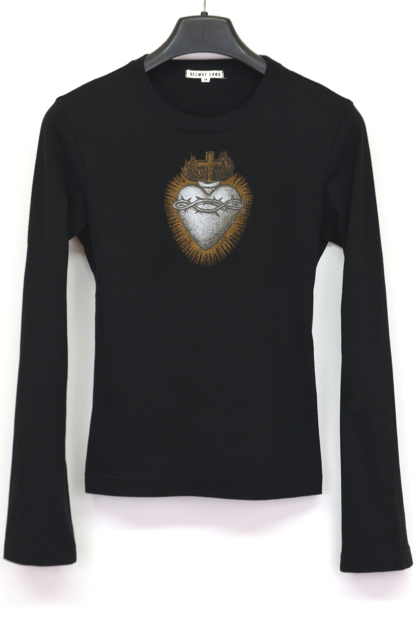 1993 Slim T-Shirt with Sacred Heart Print