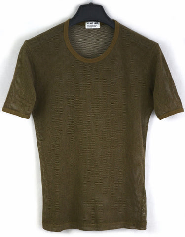 1998 Cotton-blend Mesh Slim T-Shirt