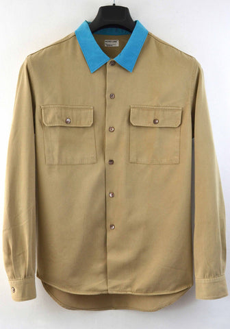 1997 Workwear Shirt with Contrasting Collar