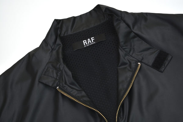 2007 Coated Polyester and Mesh Harrington Jacket