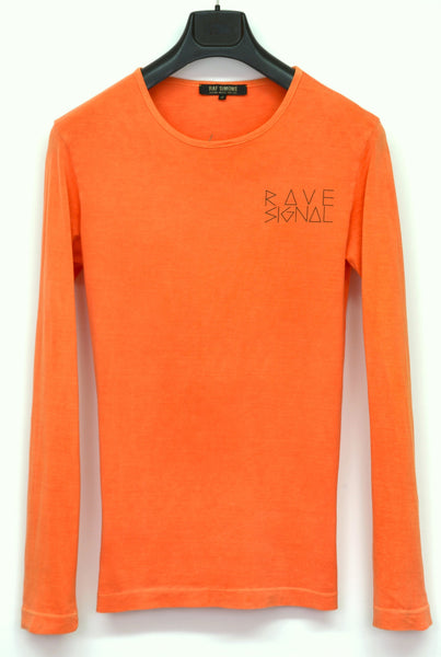 2004 Overdyed Extrafine Jersey 'Rave Signal' T-shirt