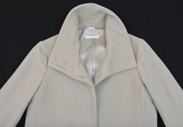 1997 Virgin Wool Funnel Neck Chesterfield Coat