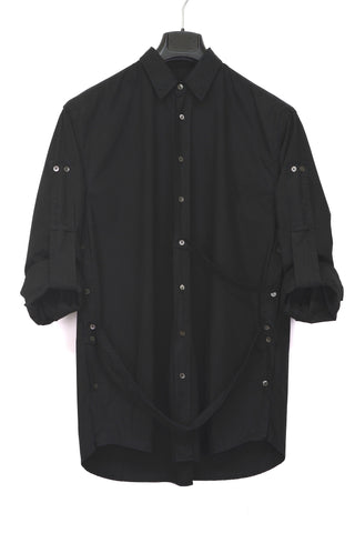 2002 Oversized Bondage Shirt with Buttoned Sides